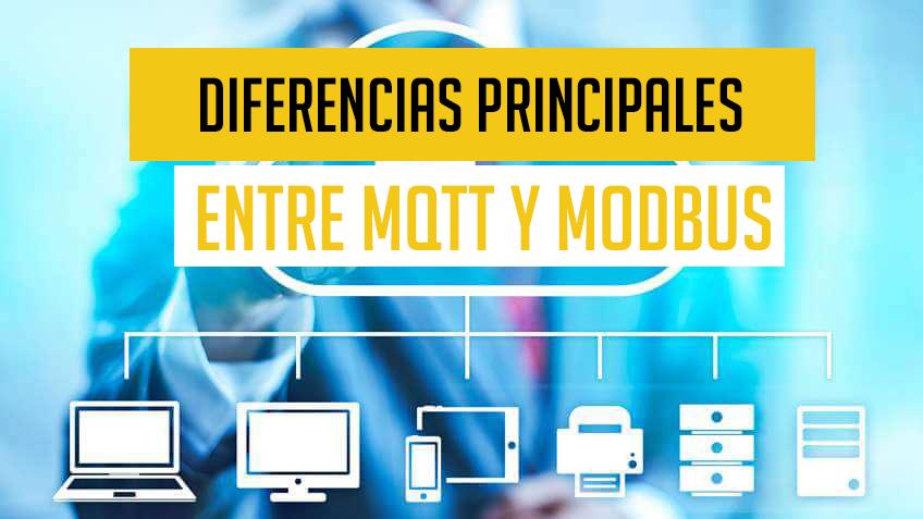 Protocolos de comunicación industrial MQTT y Modbus